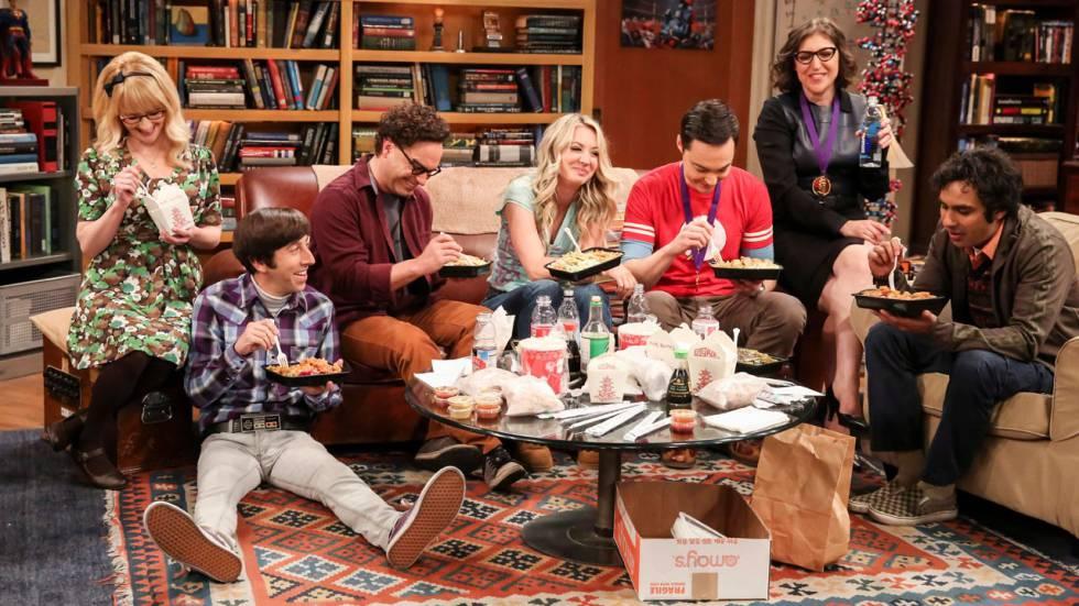 Escena de cierre de The Big Bang Theory