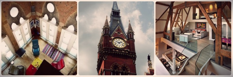 St Pancras Clock em Londres