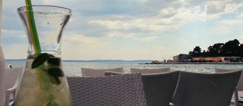 Bačvice Beach em split mojito