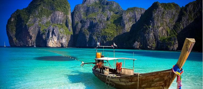 ilhas paradisíacas Ko-Phi-Phi