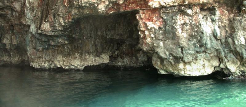 Green cave na Croácia