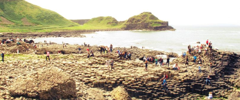 vista do giant's causeway