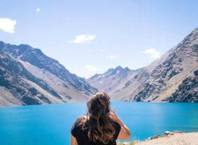 Ski Portillo no verão_lagoa
