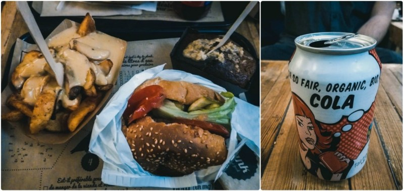 restaurante em Paris hank