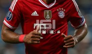 Bayern Munich title badge in the left hand side