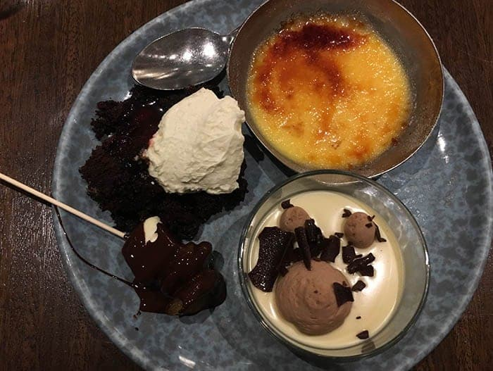 Dessert at Eight Auckland