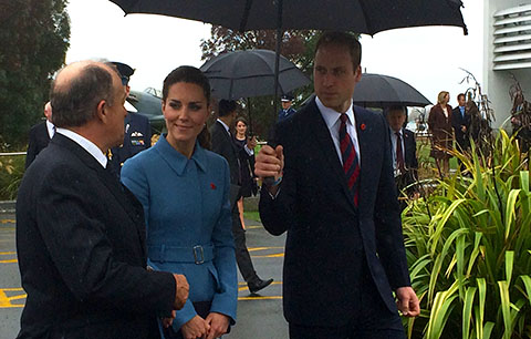 Royal Visit NZ Omaka