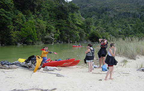 Kayaking in NZ