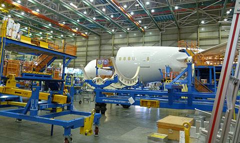Boeing fuselage