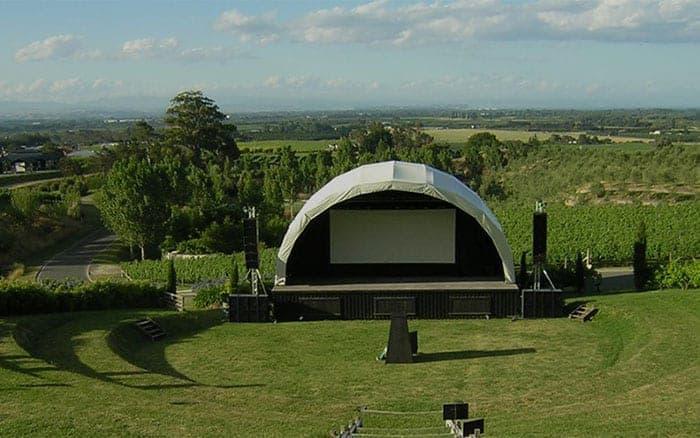 Blackbarn vineyard stage