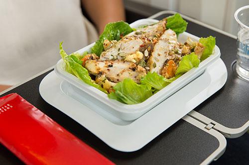 Qantas economy meal