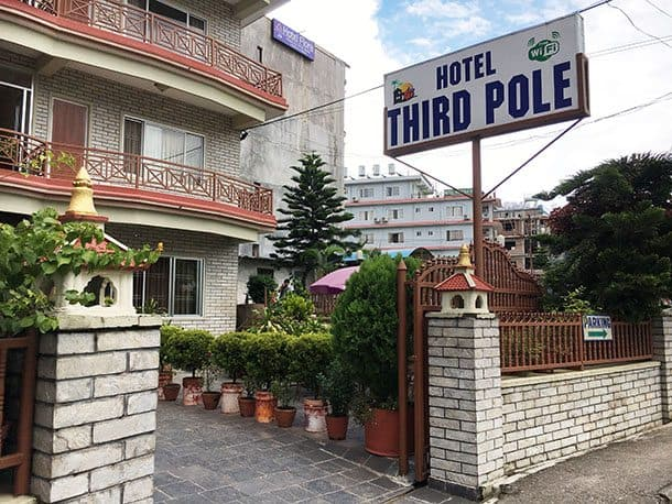 Third Pole hotel
