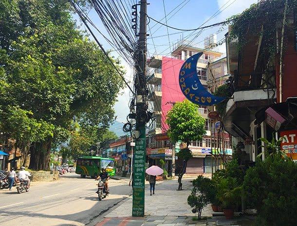 Moondance restaurant Pokhara