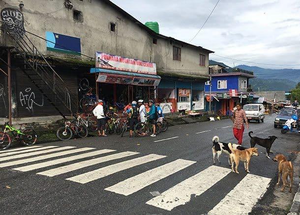 Mountain bike rental in Pokhara