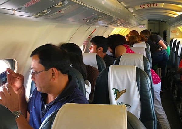 Yeti Airlines mountain flight