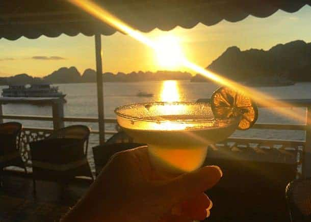 Cocktail on Ha Long Bay