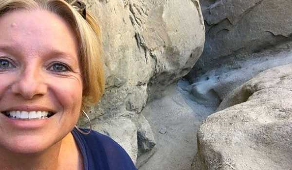 Megan in the San Andreas fault