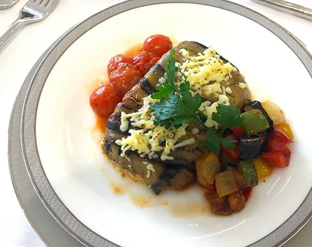 Moussaka on book the cook