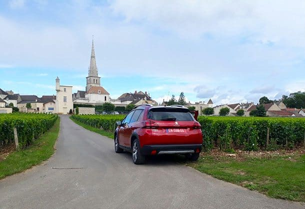 Driving the Peugeot 2008 in France