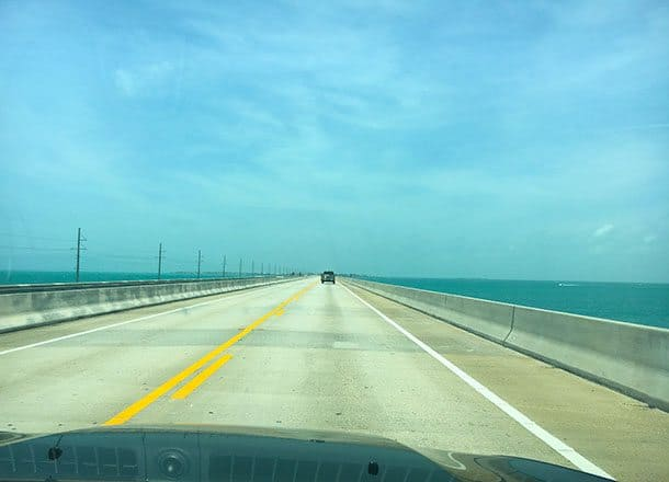 driving florida keys