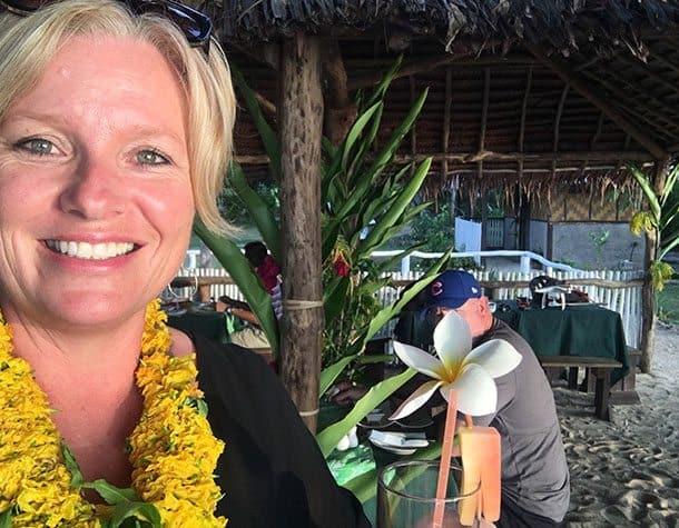 Orovy beach Vanuatu