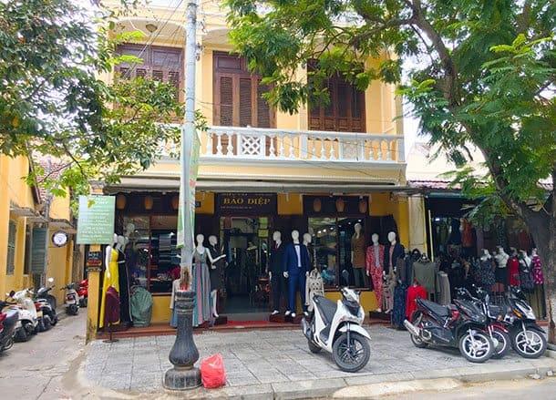 Bao Diep tailors Hoi An