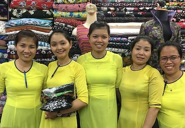 Clothes made in Vietnam