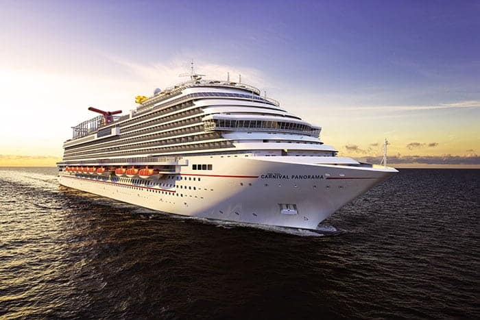 Carnival Panorama ship