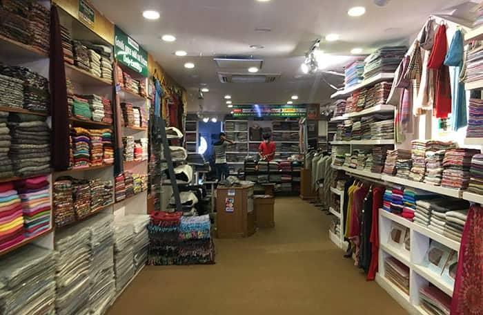 Cashmere shop in Pokhara