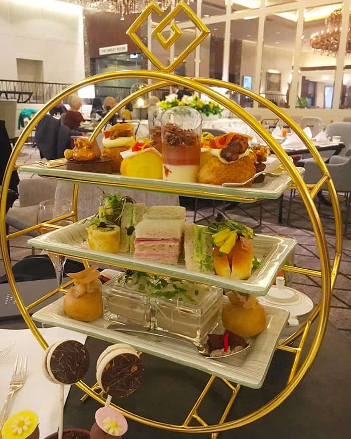 High tea at Cordis