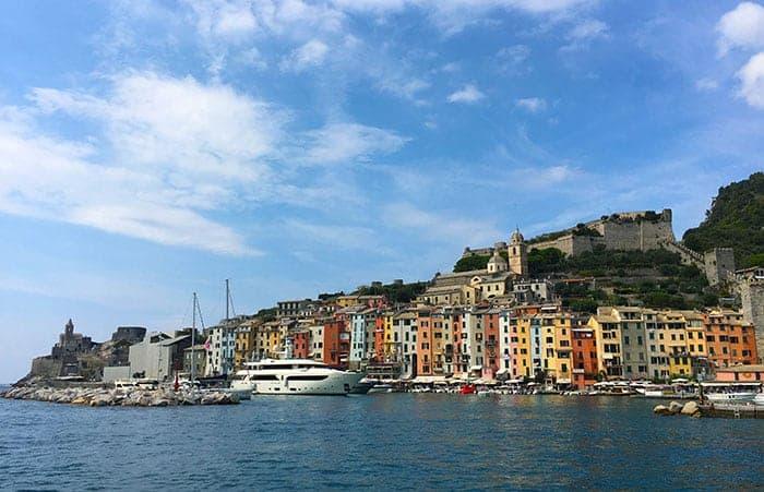 Porto Venere waterfront