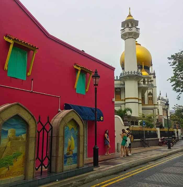 Arab Street and Haji Lane Singapore