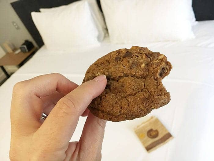 Doubletree cookie Christchurch