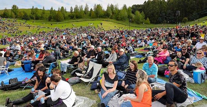 Mission concert picnics in napier