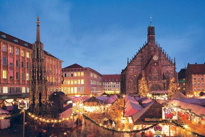 Christmas market in Nuremberg, Germany
