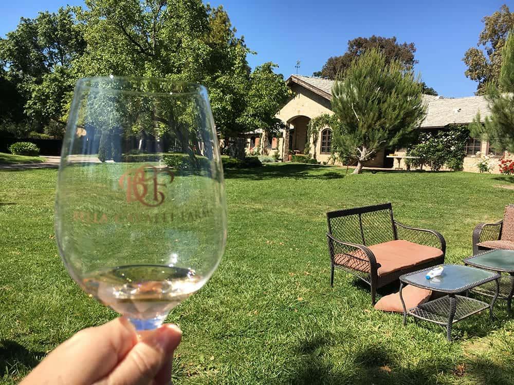 Bella Cavalli winery Santa Barbara