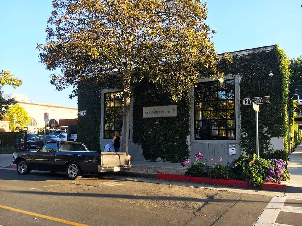 Funk Zone shop Santa Barbara