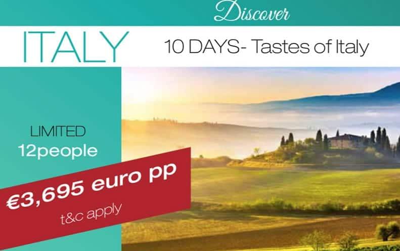 Italy tour 2020