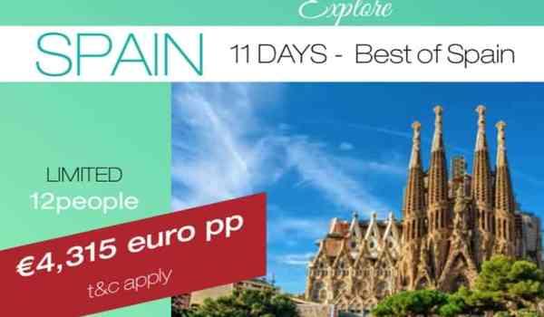 Spain tour 2020