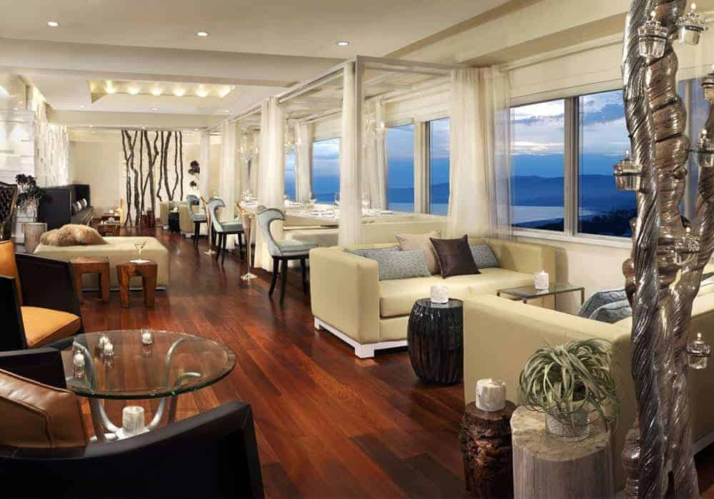 Huntley penthouse bar Santa Monica