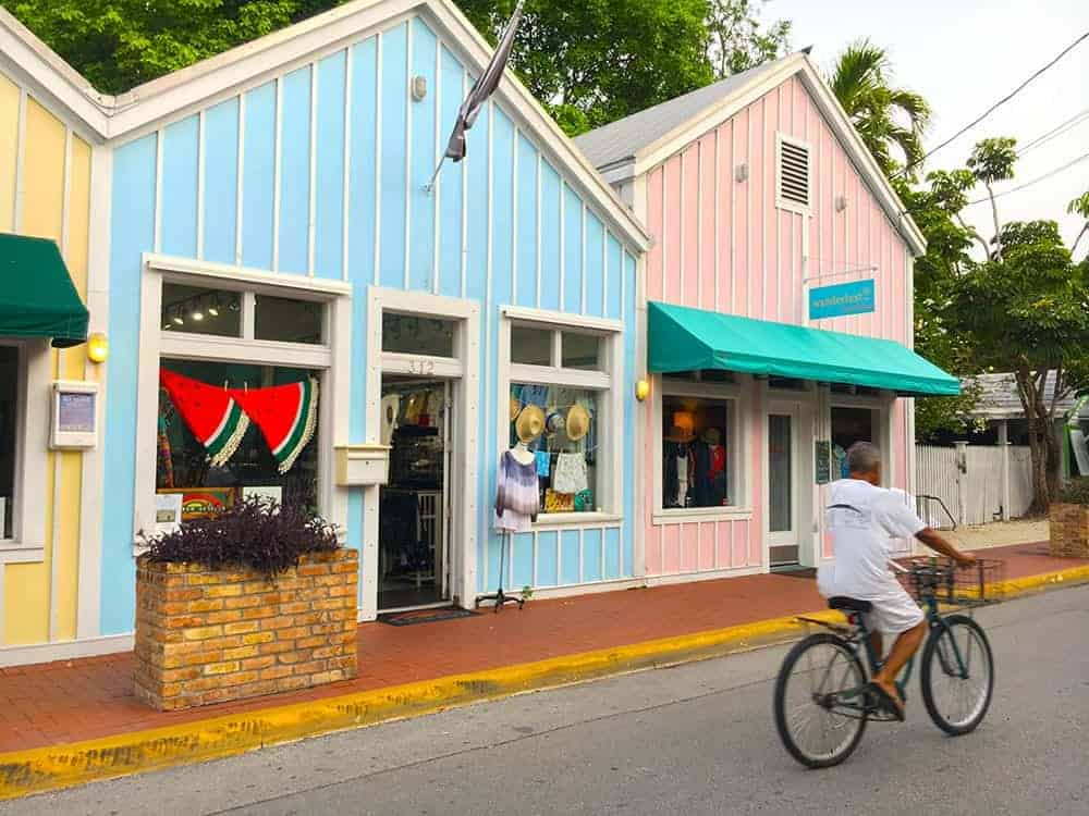 Shopping in Key West