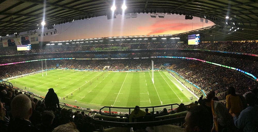 All Blacks at Twickenham