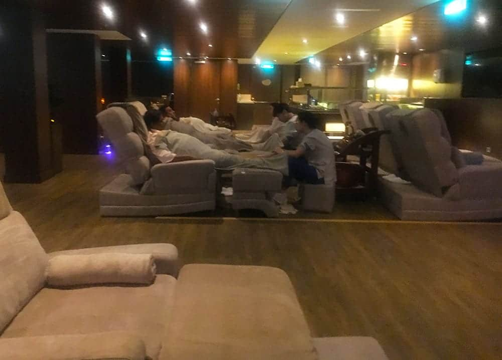 Asian spa onboard Genting Dream
