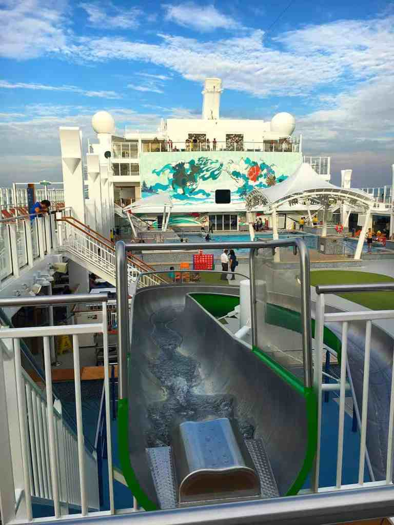 Water slide on Dream Cruise