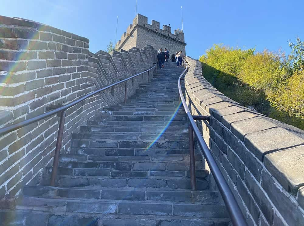 Tower 8 of Great Wall of China