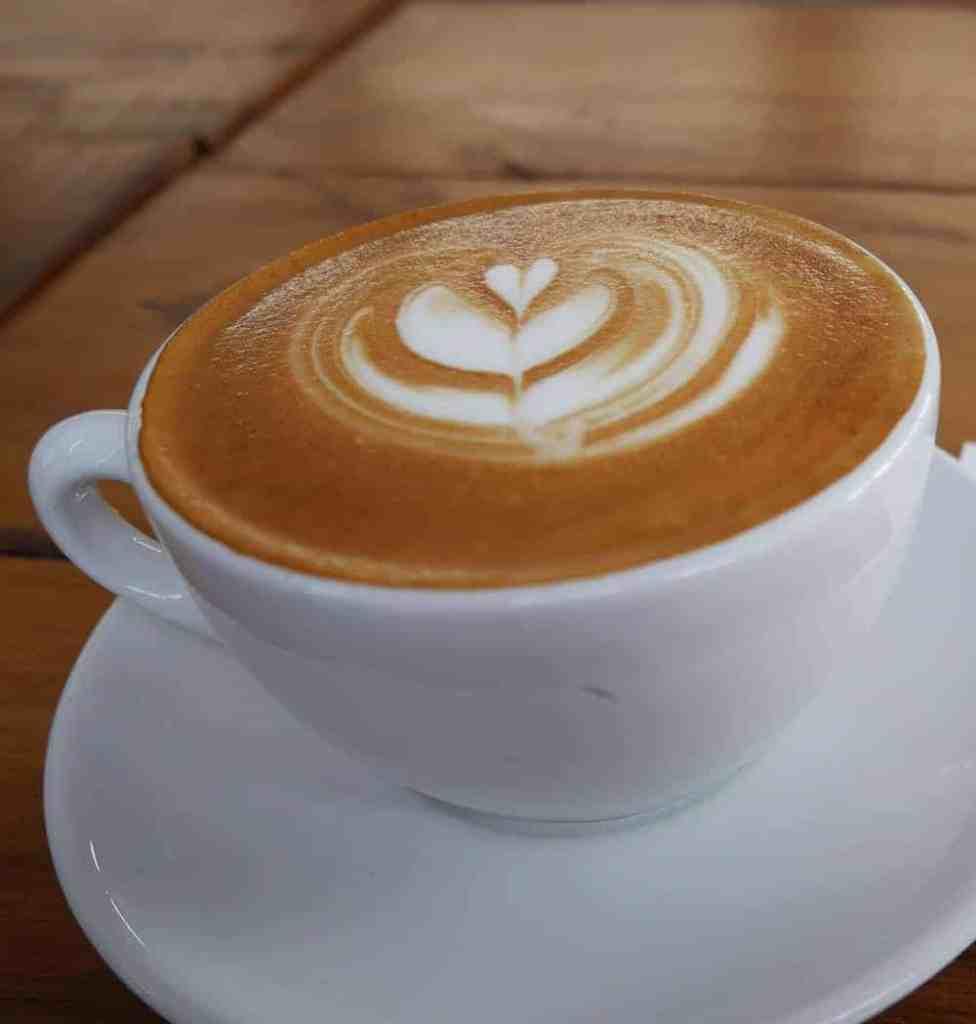 Flat white coffee in New Zealand