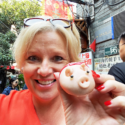 Pig steamed bun in China