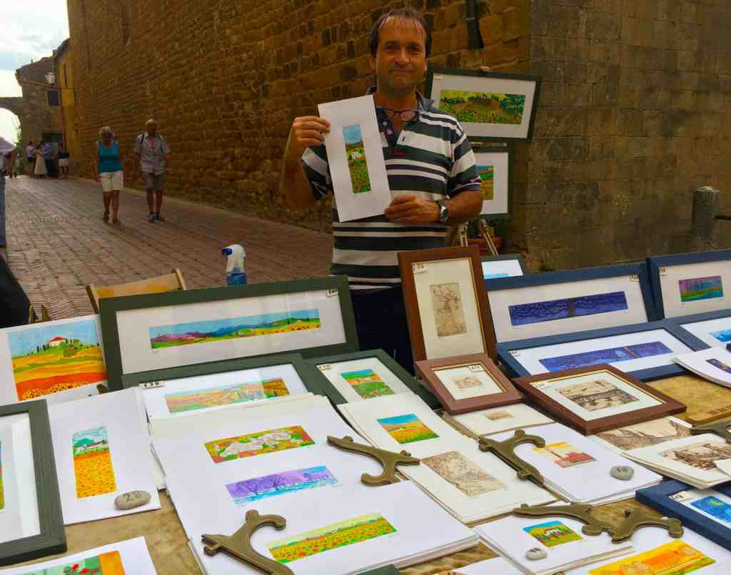Buying paintings in Italy