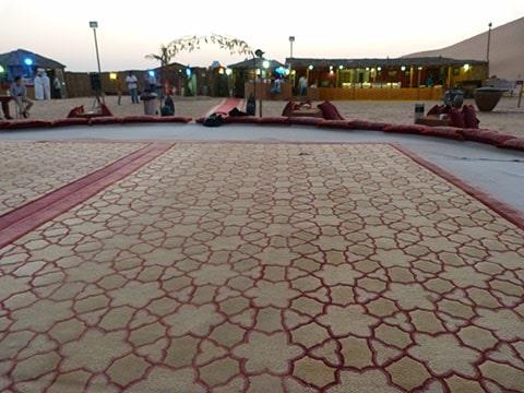Abu Dhabi bedouin camp
