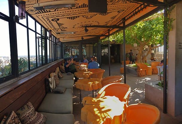 Ace Hotel rooftop dining